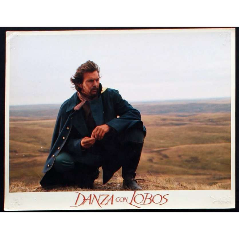 DANCES WITH WOLVES US Lobby Card 1 11x14 - 1990 - Kevin Costner, Kevin Costner