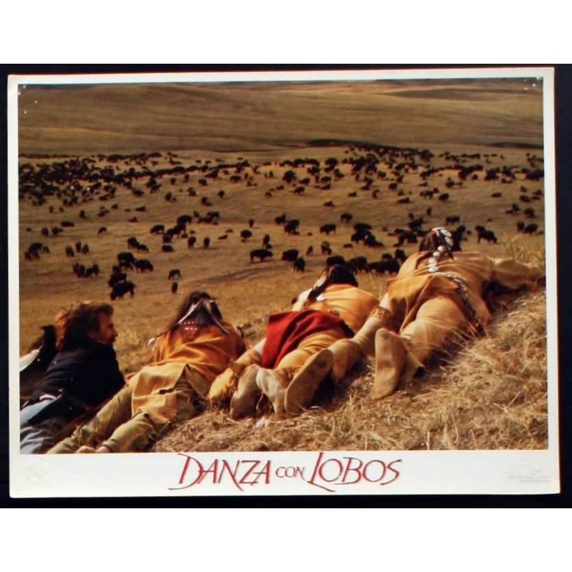 DANSE AVEC LES LOUPS Photo de film 2 28x36 - 1990 - Kevin Costner, Kevin Costner