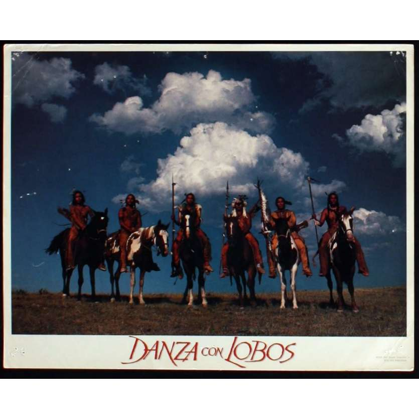 DANCES WITH WOLVES US Lobby Card 5 11x14 - 1990 - Kevin Costner, Kevin Costner