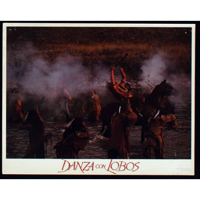 DANCES WITH WOLVES US Lobby Card 6 11x14 - 1990 - Kevin Costner, Kevin Costner