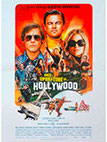 affiche de conce upon a time in hollywood