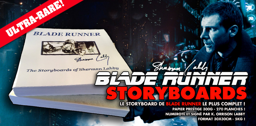 Storyboards de Blade Runner