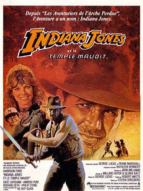 Affiche d'Indiana Jones