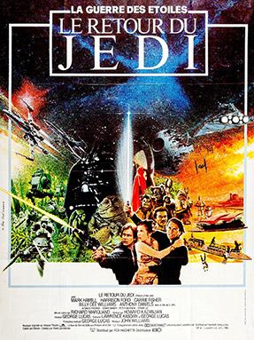 Affiche du Retour du Jedi