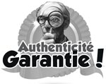 Authenticité garantie