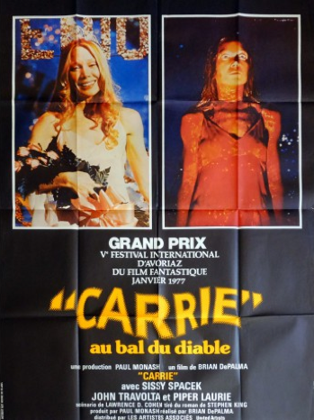 Affiche de film Carrie de John Carpenter