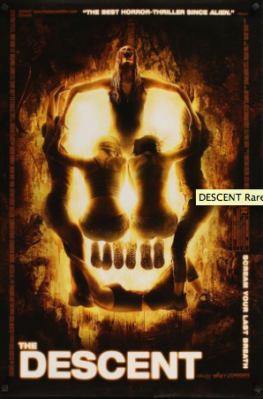 Affiche de film The Descent de Neil Marshall