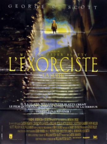 Affiche cinema originale Exorciste la suite
