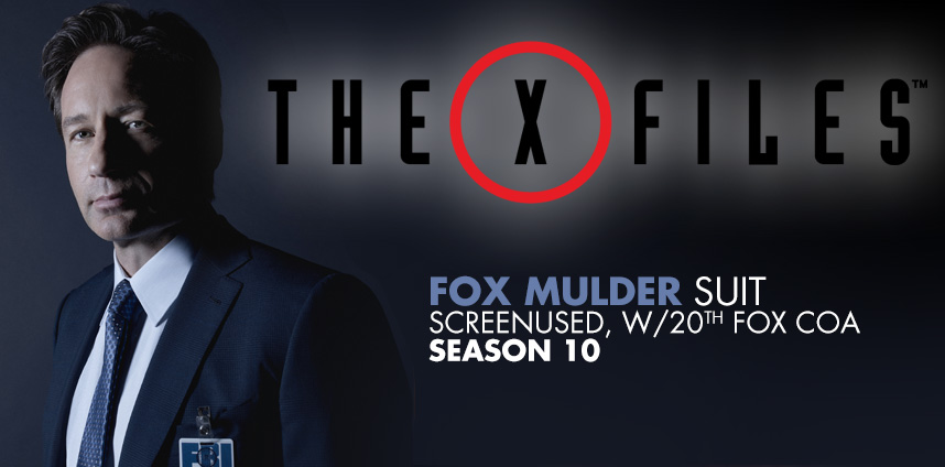 Fox Mulder's Suit from X-files