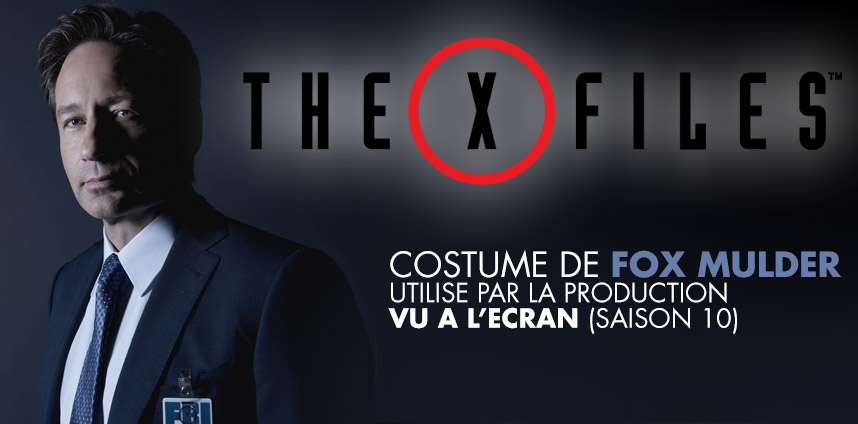 Costume de Mulder dans X-files