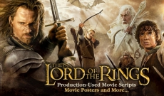 Early Lord of The Rings Trilogy Production-Used Movie script Available !