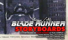 EXCLUSIF ! très rare exemplaire du Storyboard de BLADE RUNNER !